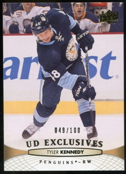 2011/12 Upper Deck Exclusives #303 Tyler Kennedy /100