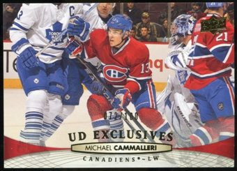 2011/12 Upper Deck Exclusives #355 Michael Cammalleri /100