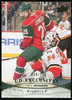2011/12 Upper Deck Exclusives #366 Nick Johnson /100