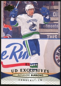 2011/12 Upper Deck Exclusives #367 Josh Harding /100