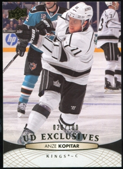 2011/12 Upper Deck Exclusives #370 Anze Kopitar /100