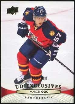 2011/12 Upper Deck Exclusives #377 Marcel Goc /100