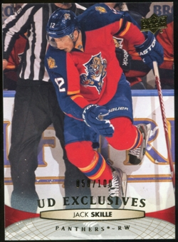2011/12 Upper Deck Exclusives #378 Jack Skille /100
