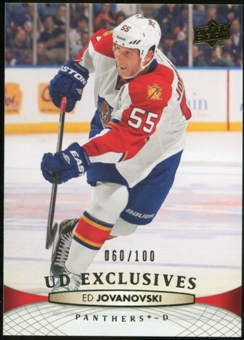 2011/12 Upper Deck Exclusives #380 Ed Jovanovski /100