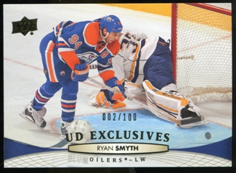 2011/12 Upper Deck Exclusives #383 Ryan Smyth /100