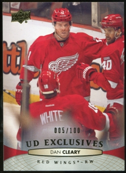 2011/12 Upper Deck Exclusives #388 Dan Cleary /100