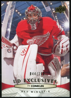 2011/12 Upper Deck Exclusives #391 Ty Conklin /100