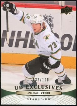 2011/12 Upper Deck Exclusives #396 Michael Ryder /100