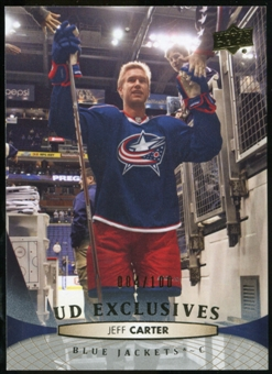 2011/12 Upper Deck Exclusives #400 Jeff Carter /100