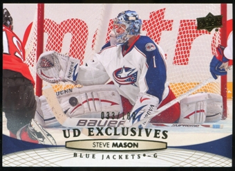 2011/12 Upper Deck Exclusives #401 Steve Mason /100