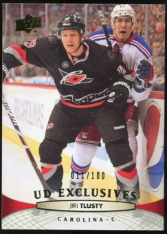 2011/12 Upper Deck Exclusives #422 Olli Jokinen /100