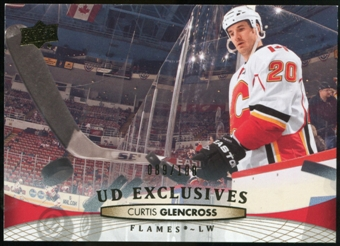 2011/12 Upper Deck Exclusives #426 Curtis Glencross /100