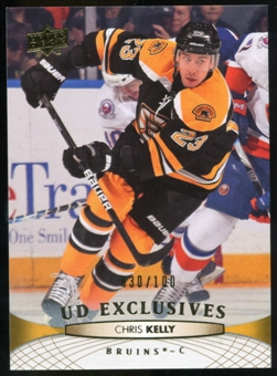 2011/12 Upper Deck Exclusives #442 Chris Kelly /100