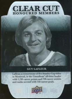 2011/12 Upper Deck Clear Cut Honoured Members #HOF25 Guy Lafleur /100