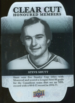 2011/12 Upper Deck Clear Cut Honoured Members #HOF27 Steve Shutt /100