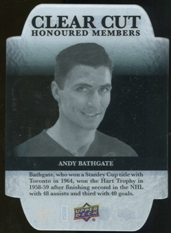 2011/12 Upper Deck Clear Cut Honoured Members #HOF32 Andy Bathgate /100