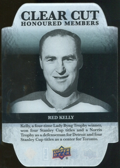 2011/12 Upper Deck Clear Cut Honoured Members #HOF41 Red Kelly /100