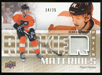 2011/12 Upper Deck Rookie Materials Patches #RMSC Sean Couturier /25