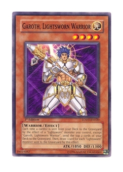 Yu-Gi-Oh Light of Destruction Single Garoth, Lightsworn Warrior Rare 3x Lot