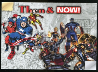 2014 Upper Deck Marvel Now Then and Now #TNLH Avengers