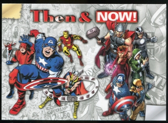 2014 Upper Deck Marvel Now Then and Now #TNLR Uncanny Avengers