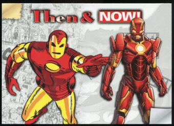 2014 Upper Deck Marvel Now Then and Now #TNLL Iron Man
