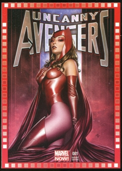 2014 Upper Deck Marvel Now Variant Covers #101AG Uncanny Avengers #1