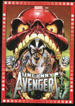 2014 Upper Deck Marvel Now Variant Covers #101NA Uncanny Avengers #1