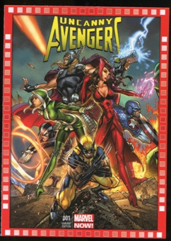 2014 Upper Deck Marvel Now Variant Covers #101SC Uncanny Avengers #1