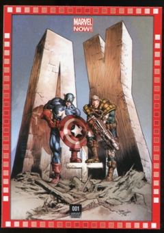 2014 Upper Deck Marvel Now Variant Covers #102MD A+X #1