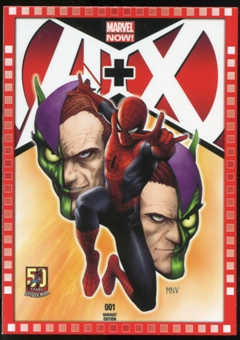 2014 Upper Deck Marvel Now Variant Covers #102SM A+X #1
