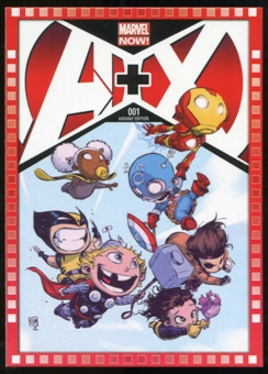 2014 Upper Deck Marvel Now Variant Covers #102SY A+X #1