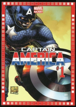 2014 Upper Deck Marvel Now Variant Covers #104JQ Captain America #1