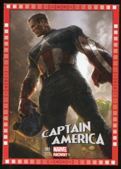 2014 Upper Deck Marvel Now Variant Covers #104RM Captain America #1