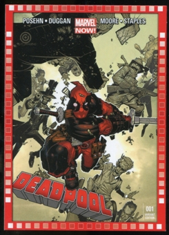 2014 Upper Deck Marvel Now Variant Covers #105CB Deadpool #1