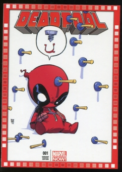 2014 Upper Deck Marvel Now Variant Covers #105SY Deadpool #1