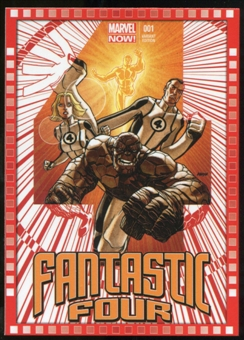 2014 Upper Deck Marvel Now Variant Covers #106DJ Fantastic Four #1