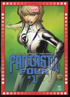 2014 Upper Deck Marvel Now Variant Covers #106JQ Fantastic Four #1