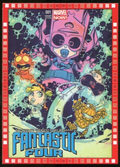 2014 Upper Deck Marvel Now Variant Covers #106SY Fantastic Four #1