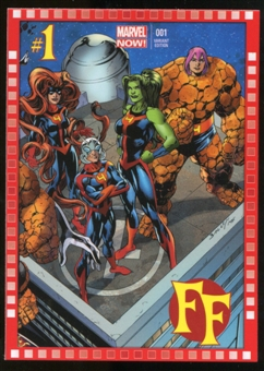 2014 Upper Deck Marvel Now Variant Covers #107MB FF #1