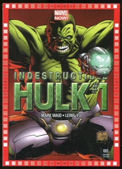 2014 Upper Deck Marvel Now Variant Covers #108JQ Indestructible Hulk #1