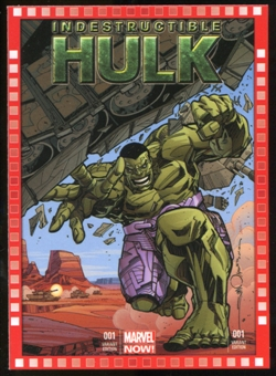 2014 Upper Deck Marvel Now Variant Covers #108WS Indestructible Hulk #1
