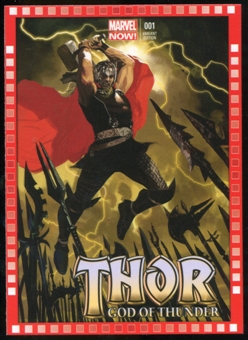 2014 Upper Deck Marvel Now Variant Covers #110DA Thor: God of Thunder #1