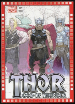 2014 Upper Deck Marvel Now Variant Covers #110ER Thor: God of Thunder #1