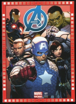 2014 Upper Deck Marvel Now Variant Covers #112SM Avengers #1