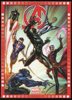 2014 Upper Deck Marvel Now Variant Covers #113SC New Avengers #1