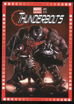 2014 Upper Deck Marvel Now Variant Covers #116HA Thunderbolts #1