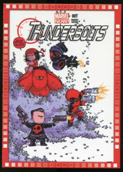 2014 Upper Deck Marvel Now Variant Covers #116SY Thunderbolts #1
