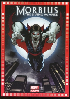 2014 Upper Deck Marvel Now Variant Covers #117EM Morbius: The Living Vamprie #1