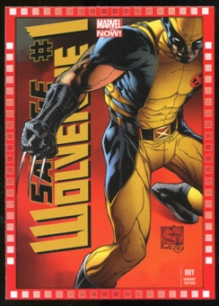 2014 Upper Deck Marvel Now Variant Covers #118JQ Savage Wolverine #1